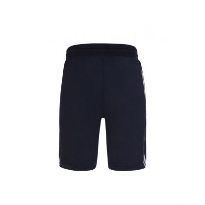 Navy Track Shorts