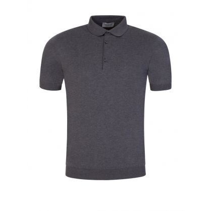 Charcoal Grey Adrian Polo Shirt