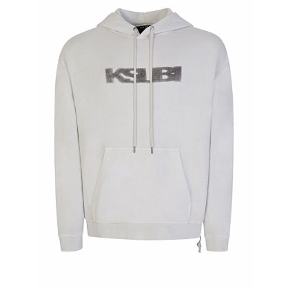 Grey Sign of the Times Logo Hoodie