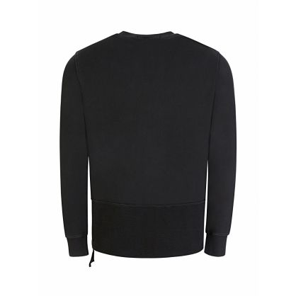Black Seeing Lines Sweatshirt
