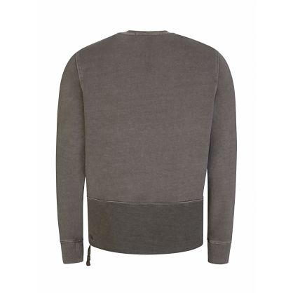 Grey Seeing Lines Sweatshirt