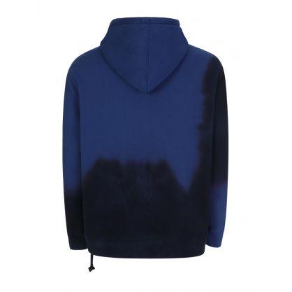 Blue Infurno Dye Biggie Hoodie
