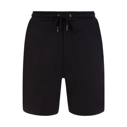 Black Lofi Drawstring Shorts