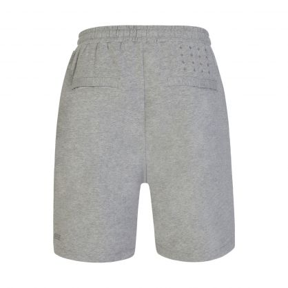 Grey Lo Fit  Drawstring Shorts