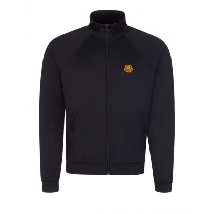 Black Tiger Crest Zip-Through Track Top