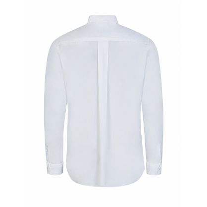 White Tiger Logo Poplin Shirt