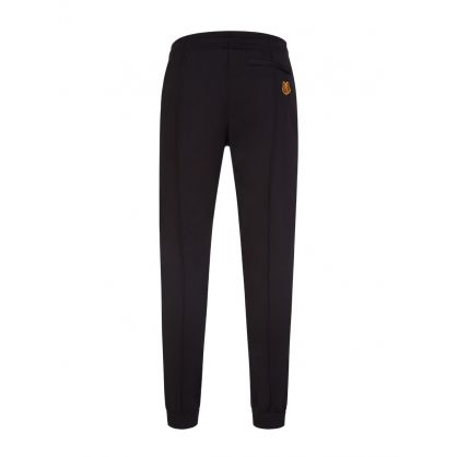 Black Classic Tiger Crest Track Sweatpants