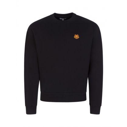 Black New Tiger Crest Sweatshirt