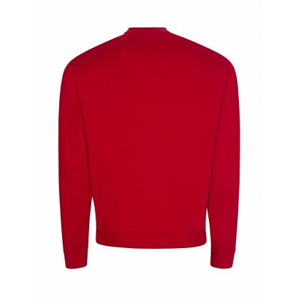 Red Classic Tiger Logo Sweatshirt