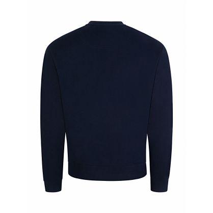 Navy Stitched Tiger Sweatshirt