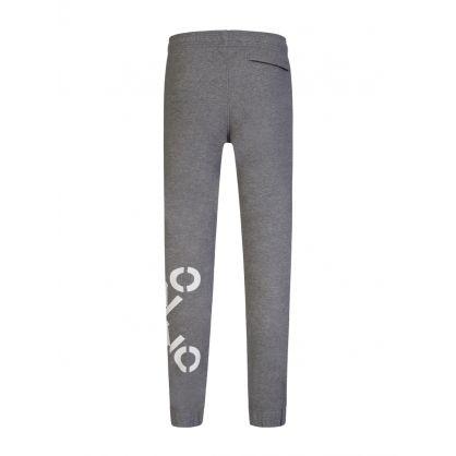 Grey Cross Logo Sweatpants