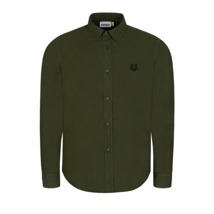 Green Tiger Crest Shirt