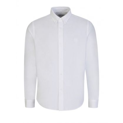 White Tiger Head Oxford Shirt