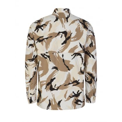 Off White Tropic Camo Print Shirt