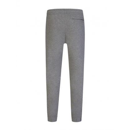 Grey Tiger Crest Sweatpants