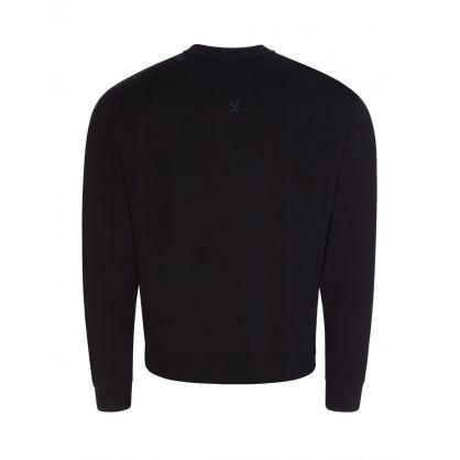Black Tiger Crest Logo Sweatshirt