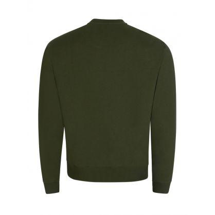 Green Tiger Head Logo Sweatshirt