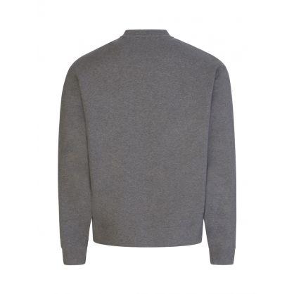 Grey Tiger Head Logo Sweatshirt
