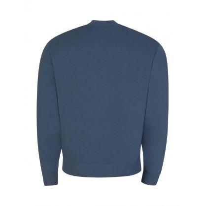 Blue Tiger Logo Sweatshirt
