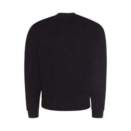 Black Gradient Tiger Classic Sweatshirt