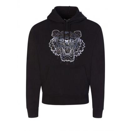 Black Gradient Tiger Hoodie