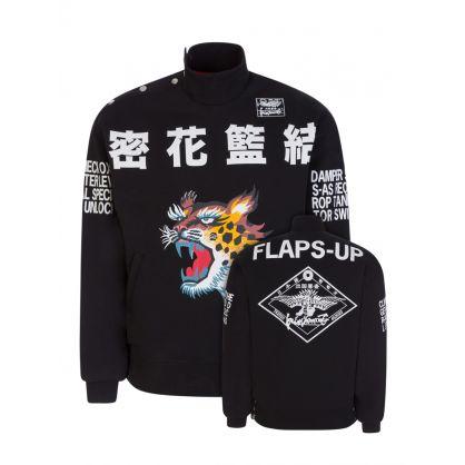 x Kansai Yamamoto Black Edition Seasonal Sweatshirt
