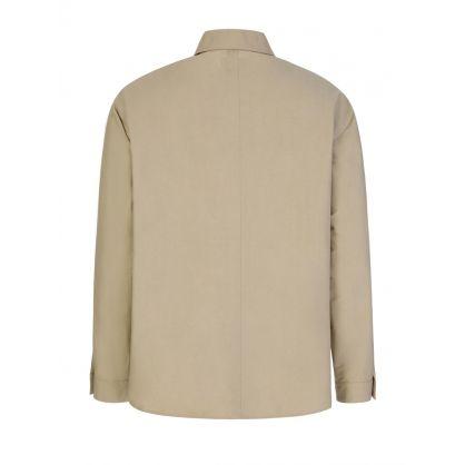 Tan Multi-Pocket Overshirt
