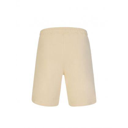 Beige Tiger Crest Classic Shorts