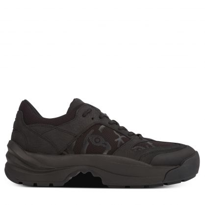 Black Low-Top Work Trainers