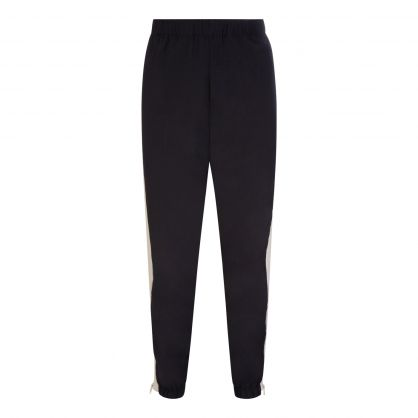 Black Nylon Sweatpants