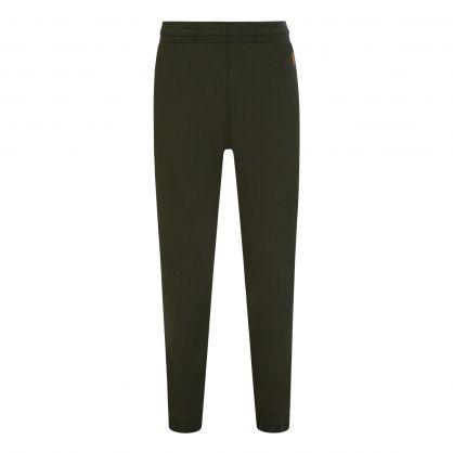 Dark Khaki Green Classic Tiger Crest Sweatpants