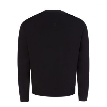Black Tiger Crest Classic Sweatshirt