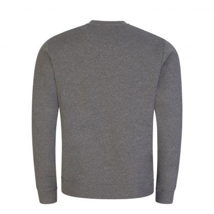 Grey Embroidered Tiger Sweatshirt