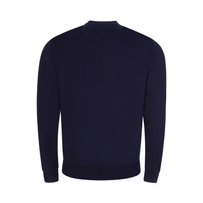 Navy Sport Fleece Sweatshirt