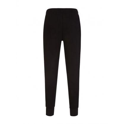 Sport Black Cuffed Sweatpants