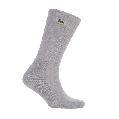 Grey/White/Black Sport Socks 3-Pack