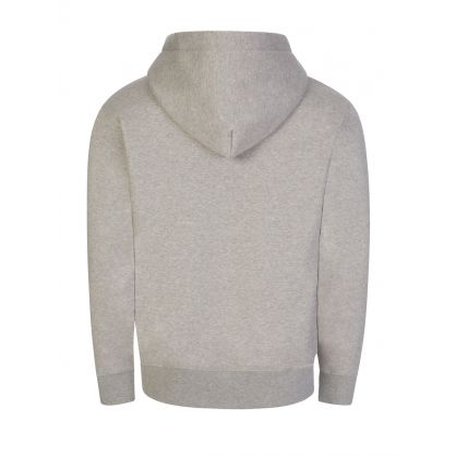 Grey Chip Pocket Popover Hoodie