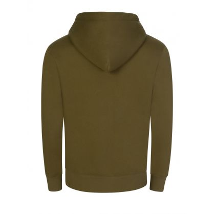 Green Chip Pocket Popover Hoodie