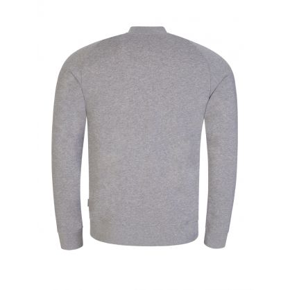 Grey Josef Zip-Through Sweatshirt