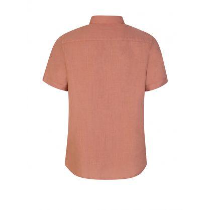 Pink Clean Linen Shirt