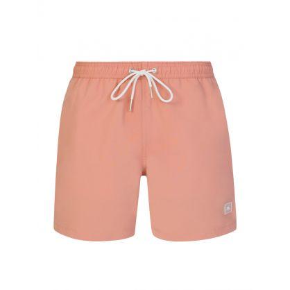 Pink Banks Swim Shorts