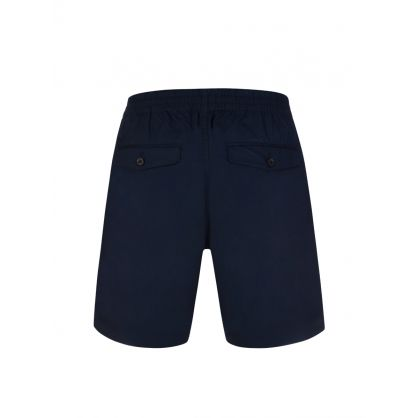 Navy Ralf Stretch Cotton Shorts