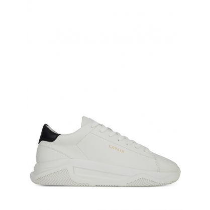 White Linear Trainers