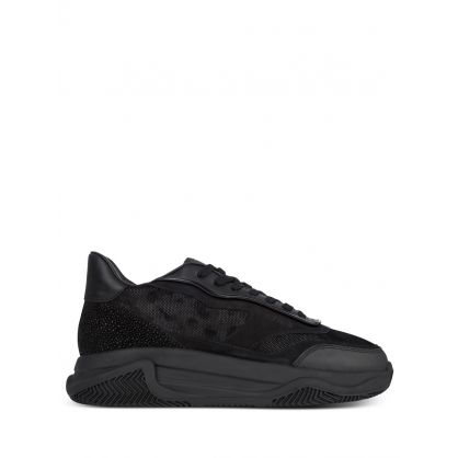 Black Pacific Black Dot Camo Trainers
