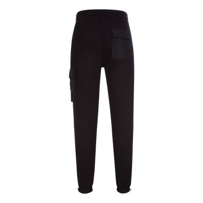 Black Marvin Sweatpants