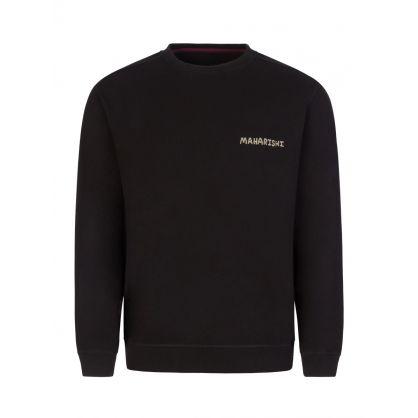 Black Chimayo Sweatshirt