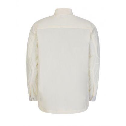 Cream Utility 2.0 Veg Dyed Tech Overshirt
