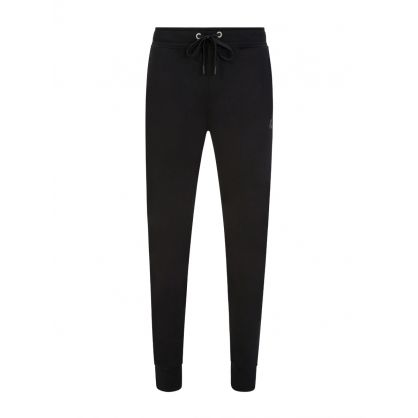 Black Slim Reynolds Sweatpants