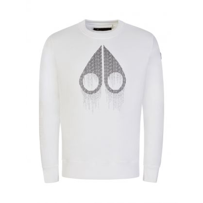White Denison Sweatshirt