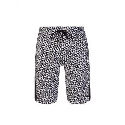 Black/White Click Shorts
